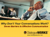Why Don't Your Conversations Work?